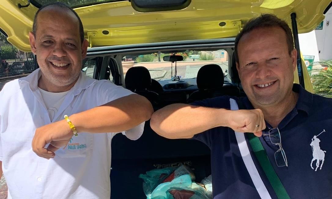 Lang (à direita) contratou Gomes para atuar no Palm Springs Foto: Divulgação
