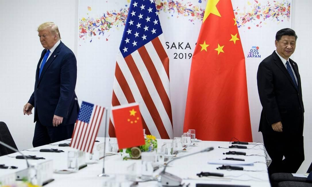 Após ameaça de Trump, China diz que relações bilaterais estáveis ...