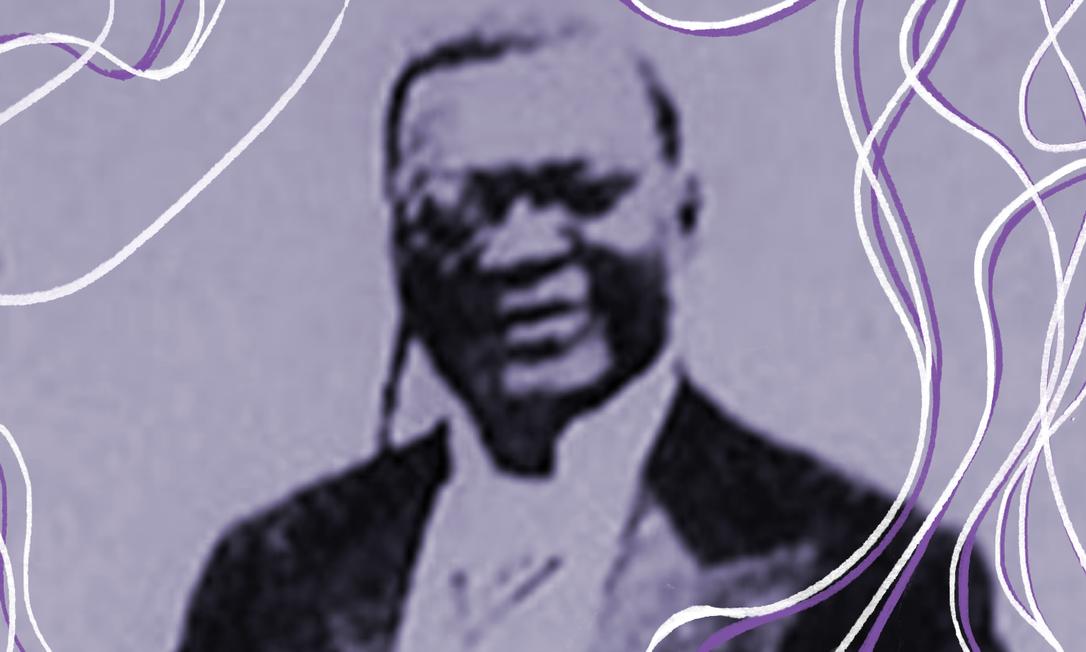"""O músico negro Eduardo das Neves gravou """"A Canoa Virada"""", que pode ser considerado o hino popular da abolição da escravidão Foto: Reprodução"""