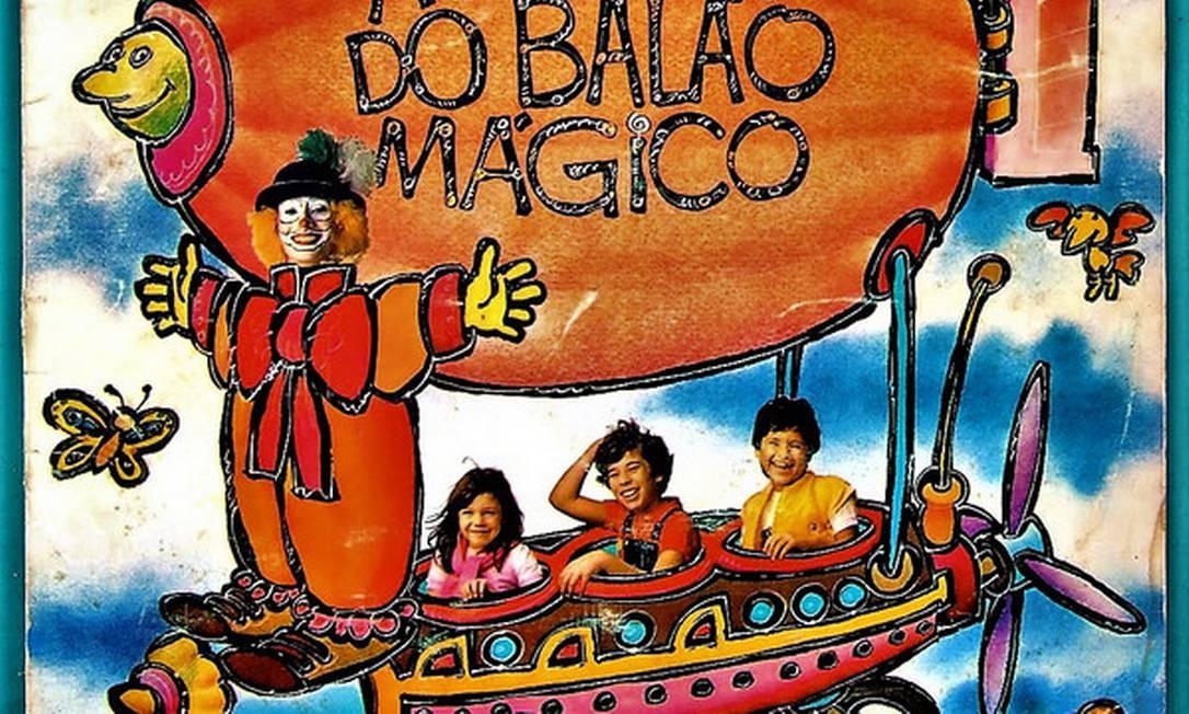 LP 'A turma do Balão Mágico', de 1983 Foto: Reprodução