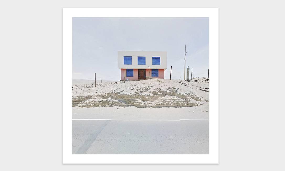 Fachada de casa no Peru Foto: Jacqui Kenny / Divulgação