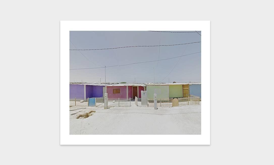 Casas coloridas no Peru Foto: Jacqui Kenny / Divulgação