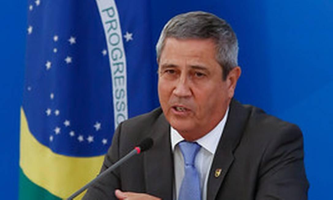 O ministro da Casa Civil, Braga Netto 15/05/2020 Foto: Anderson Riedel/PR / Divulgação