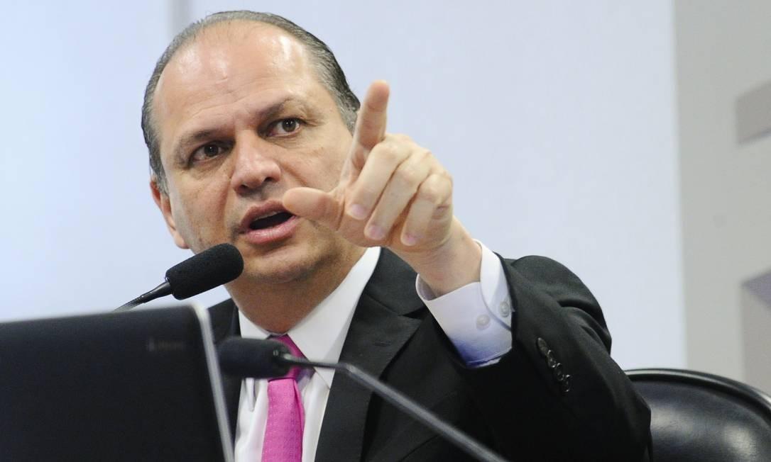 Vice-líder de governo e ex-ministro da Saúde Ricardo Barros (PP-PR) é um dos que defendem a permanência de Eduardo Pazuello Foto: Geraldo Magela / Geraldo Magela/Agência Senado