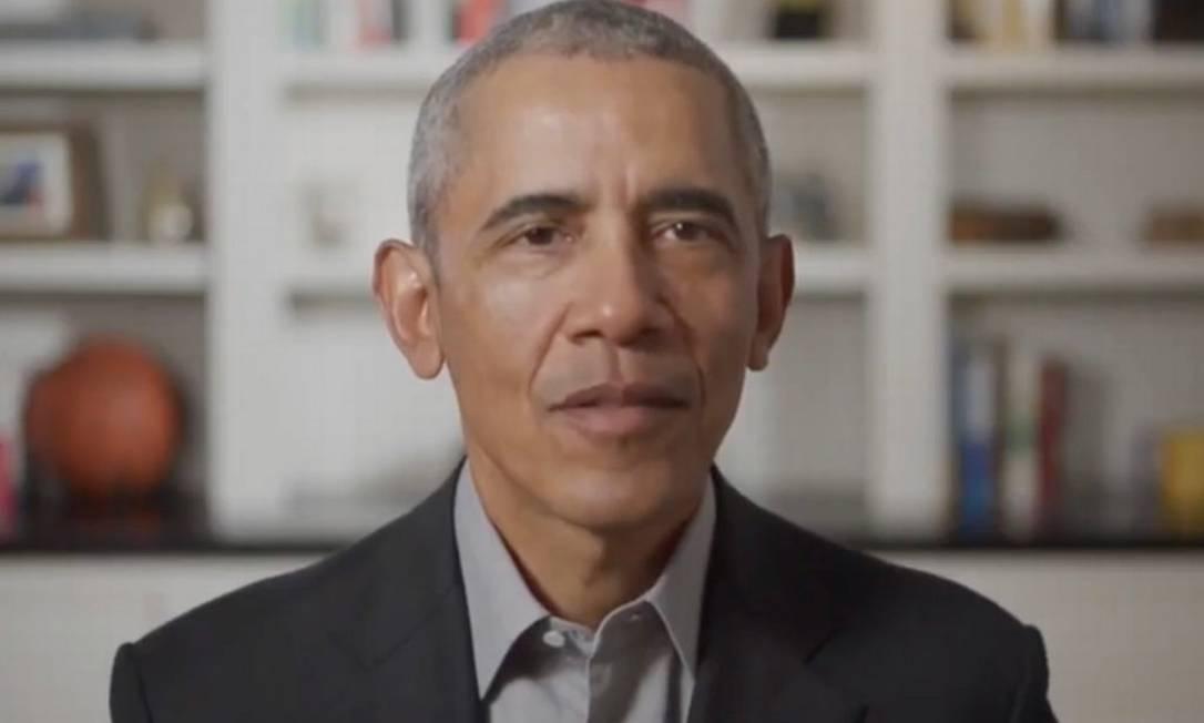 Ex-presidente dos EUA, Obama criticou resposta de Trump à pandemia de coronavírus Foto: Reprodução