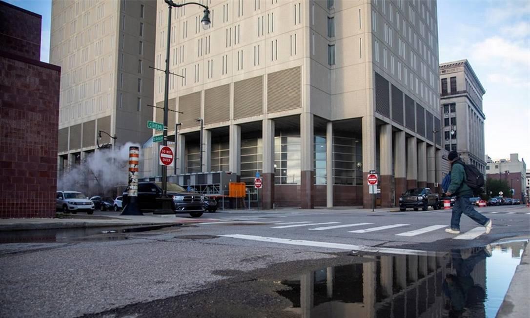 Prisão em Detroit: sistema penitenciário dos EUA são uma ameaça ao combate à pandemia Foto: Reuters