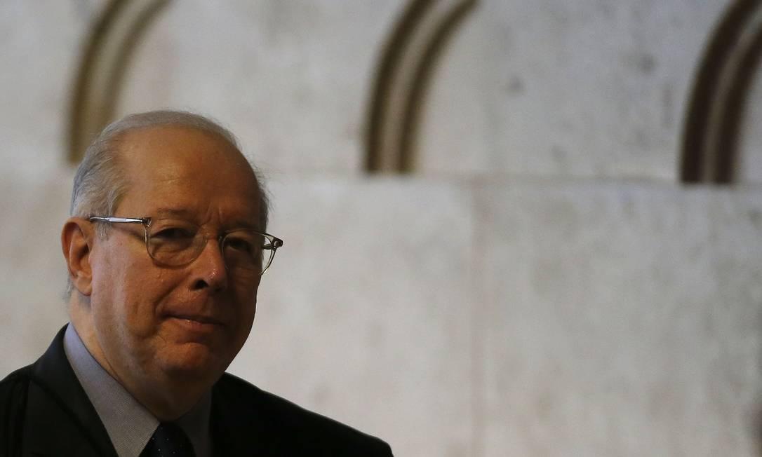O ministro decano do STF, Celso de Mello Foto: Jorge William / Agência O Globo