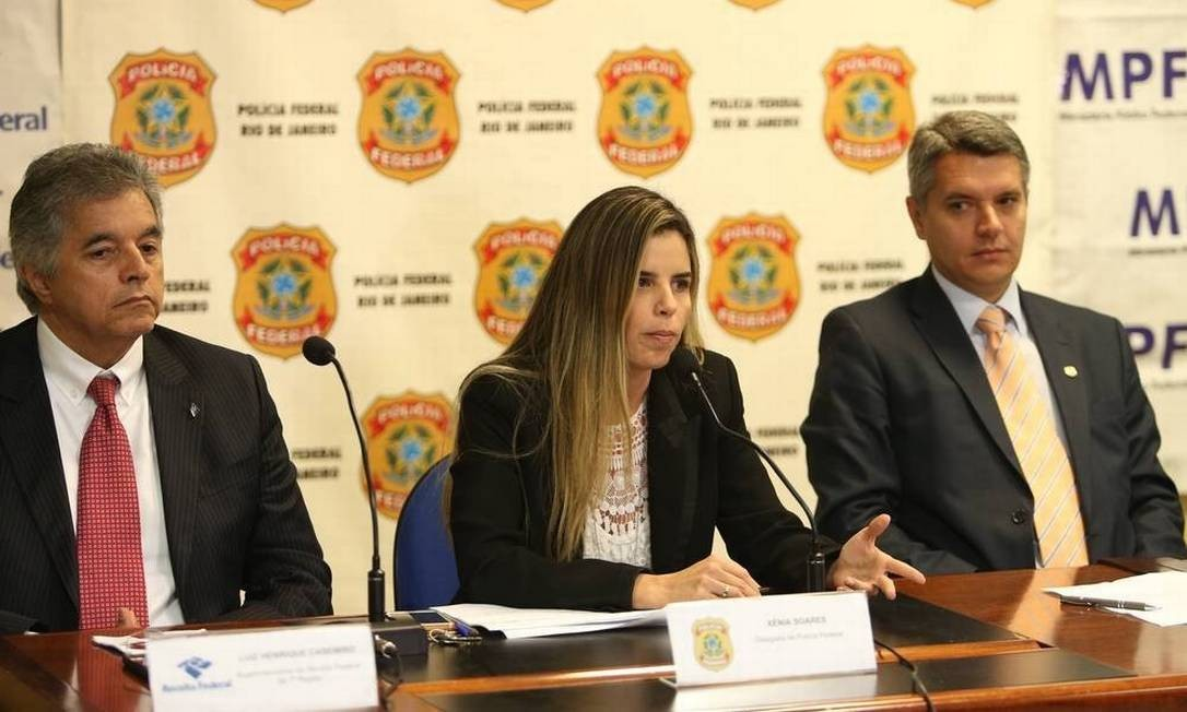 A delegada Xênia Soares será ouvida no inquérito aberto para investigar vazamento da operação Furna da Onça para Flávio Bolsonaro Foto: Pedro Teixeira / Agência O Globo 08/11/2018