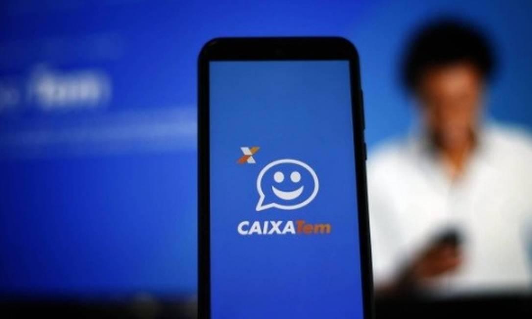 O aplicativo Caixa Tem vai permitir o pagamento sem o uso do cartão Foto: Agência O Globo