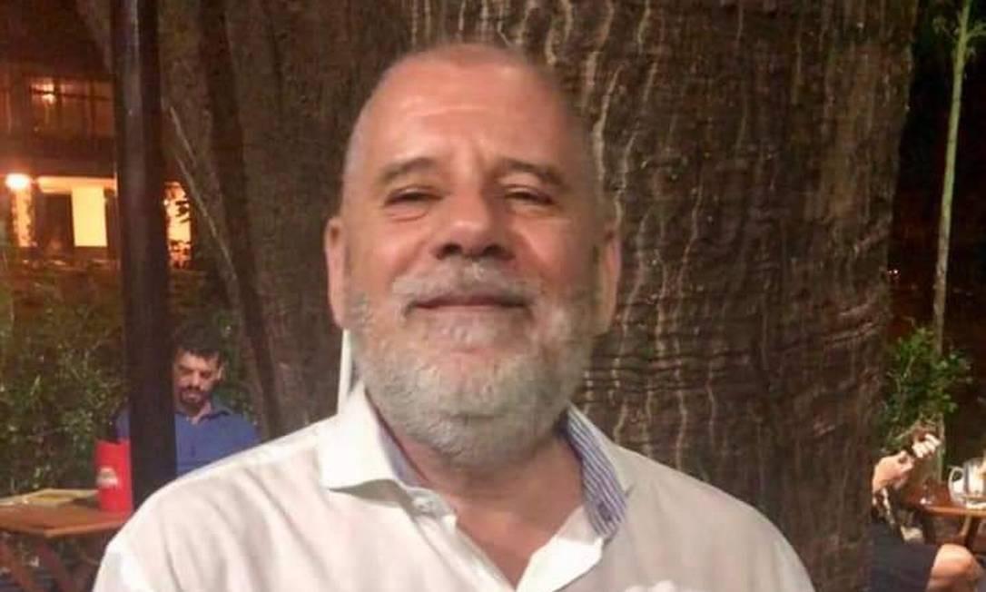 Coronel Braga, chefe de gabinete de Flávio Bolsonaro na Alerj e no Senado Foto: Reprodução