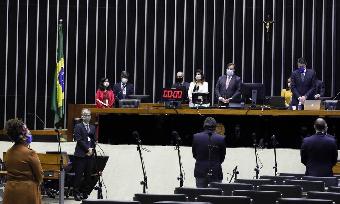 Câmara aprova proposta que obriga o uso de máscara em todo o país Foto: Maryanna Oliveira / Câmara dos Deputados