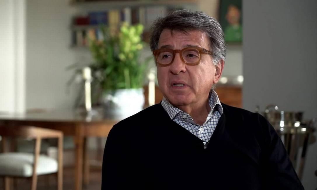 O empresário Paulo Marinho, ex-aliado de Bolsonaro e pré-candidato do PSDB à Prefeitura do Rio Foto: Reprodução