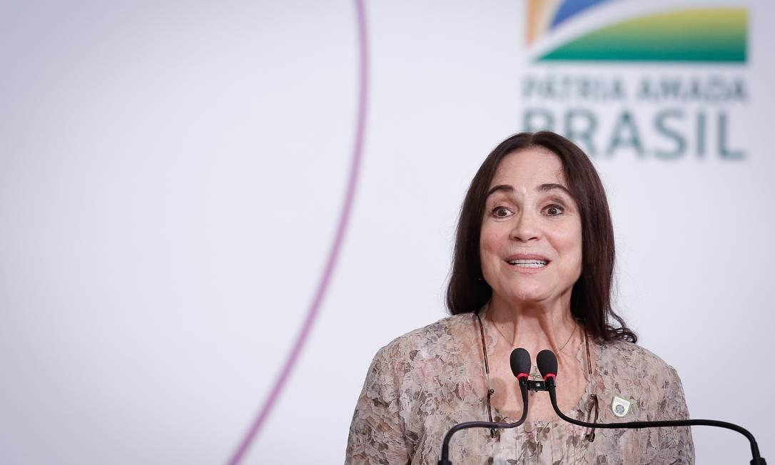 Regina Duarte acumulou derrotas durante sua passagem pelo governo Bolsonaro Foto: Pablo Jacob / Agência O Globo