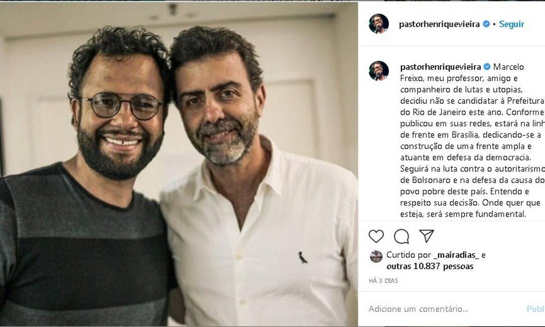 Pastor Henrique Vieira foi vereador em Niterói Foto: Reprodução