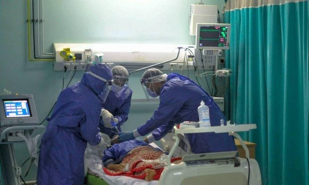 Um quarto dos mortos por Covid-19 na Inglaterra tinha diabetes. Foto: YAHYA DIWER / RTS