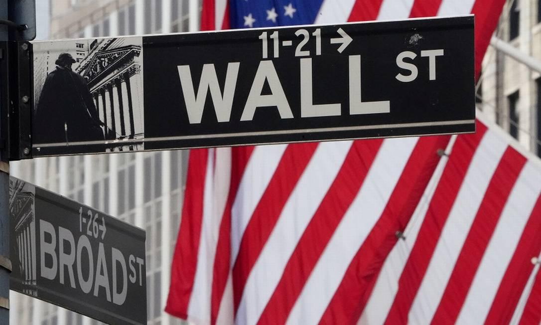 Wall Street, coração financeiro de Nova York: empresas da China podem ser barradas. Foto: Carlo Allegri / REUTERS