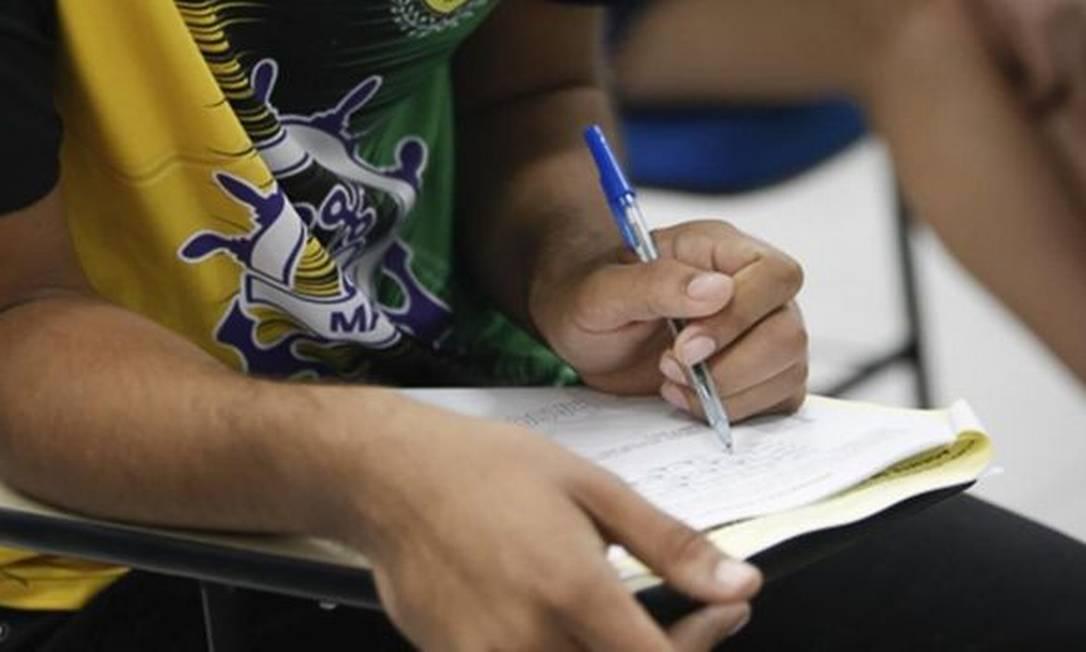 Temia-se que Enem, na data original, aumentasse desigualdade de acesso ao ensino superior Foto: AG Pará