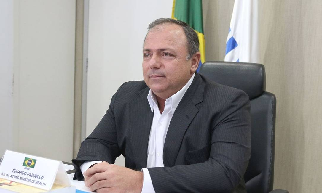 O ministro da Saúde, Eduardo Pazuello 18/05/2020 Foto: Agência Brasil 18/05/2020