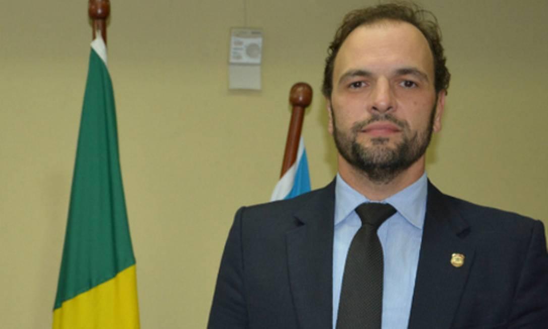 O superintendente da Polícia Federal em Minas Gerais Cairo Costa Duarte Foto: Divulgação
