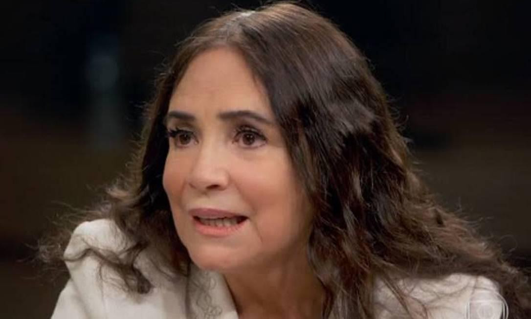 Regina Duarte Foto: Reprodução/TV Globo
