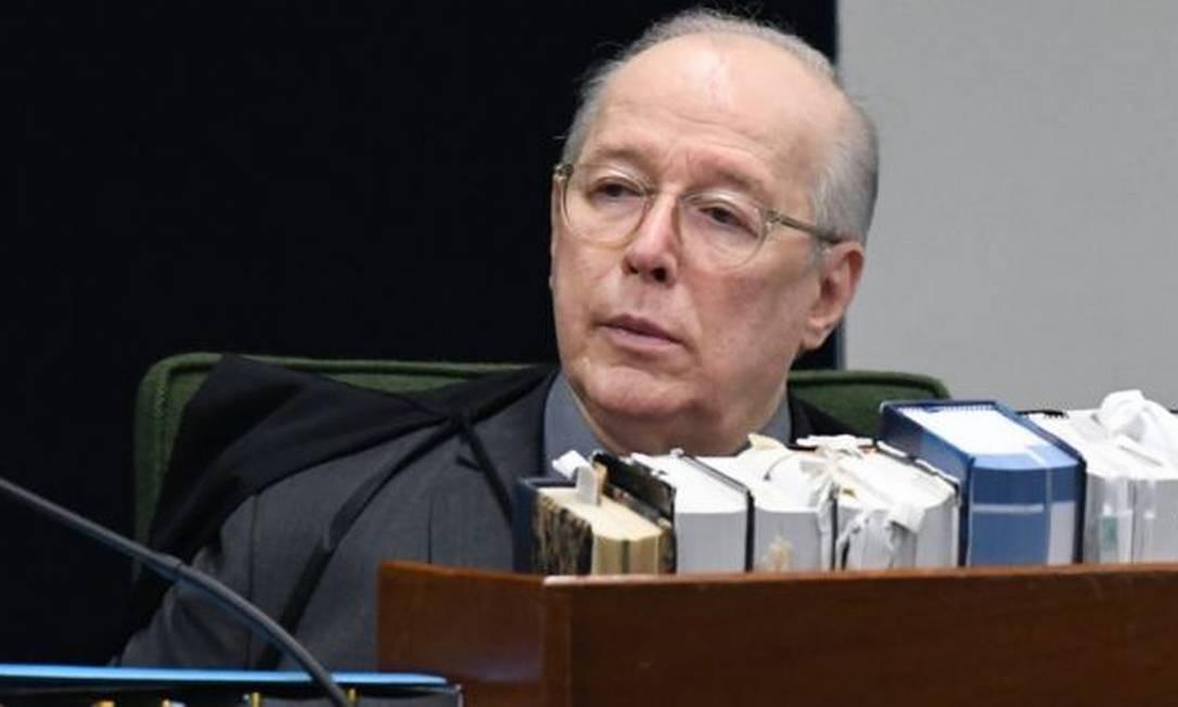 Decano do STF, ministro Celso de Mello Foto: CARLOS MOURA/SCO/STF