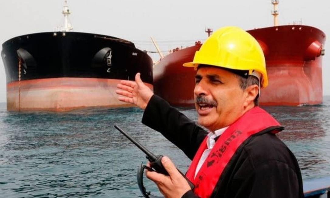 Embarcações petroleiras no golfo pérsico em imagem de arquivo Foto: Getty