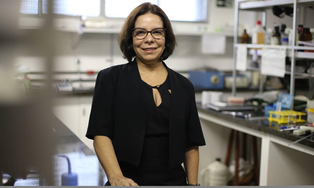 Denise Pires de Carvalho é reitora da UFRJ Foto: Pedro Teixeira/11.03.2019 / Agência O Globo