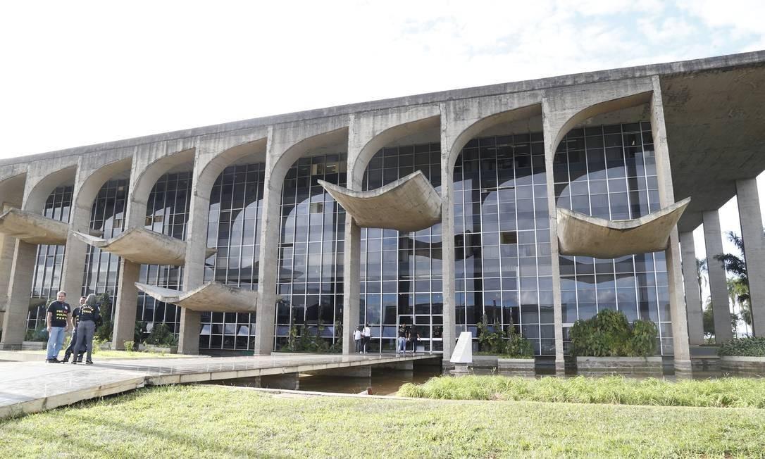 Ministério da Justiça Foto: Aílton de Freitas/Agência O Globo