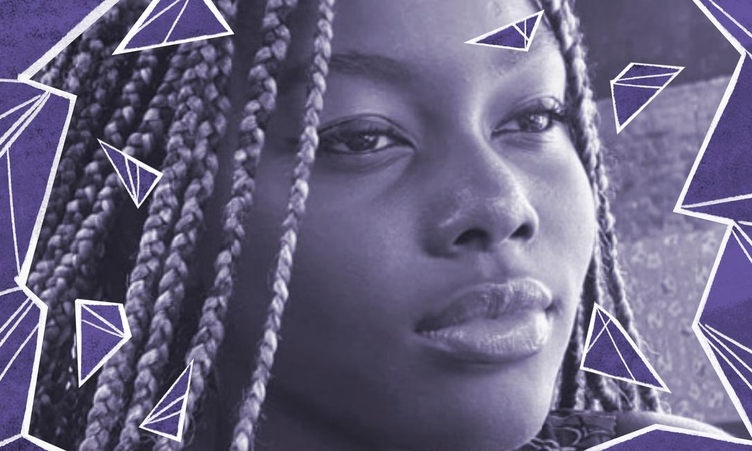 A estudante Fatou Ndiaye, de 15 anos, vítima de crime de racismo no colégi oFranco Brasileiro, no Rio de Janeiro Foto: Arquivo Pessoal
