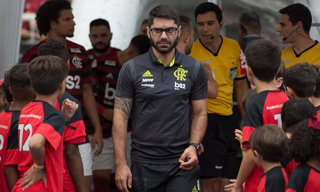 Márcio Tannure, medico do Flamengo Foto: Alexandre Vidal/Flamengo