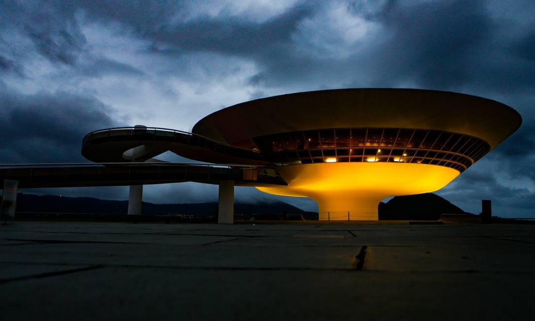 MAC: os museus são alguns dos espaços públicos que já contam com a presença dos agentes contratados Foto: Roberto Moreyra / Agência O Globo