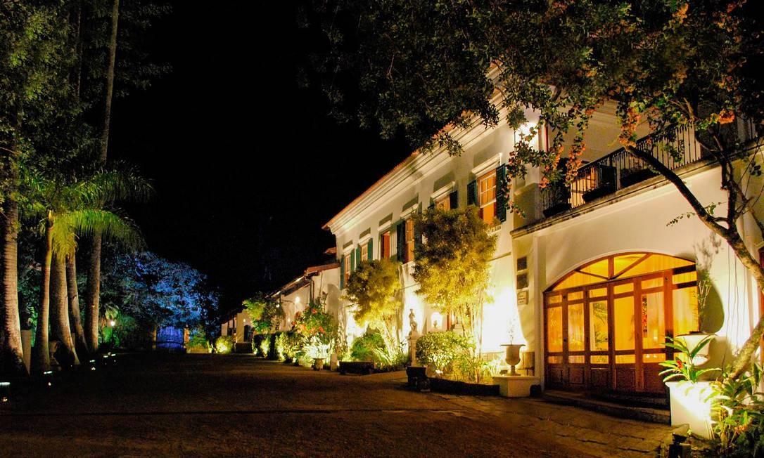 Villa Riso, em São Conrado: casa do século XVIII está sendo reformada por novos gestores Foto: Divulgação