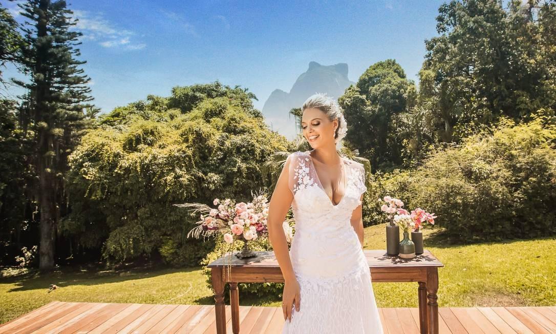 Local é tradicional cenário de casamentos no Rio Foto: Divulgação/Werneck Fotografia
