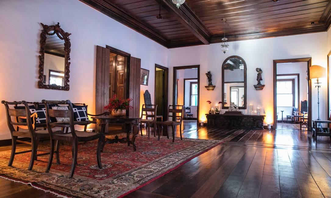 O Salão Imperial, um dos mais reformados, já foi reformado Foto: Divulgação