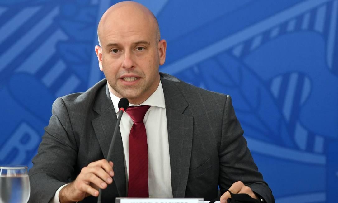 O secretário-executivo do Ministério da Economia, Marcelo Guaranys Foto: Edu Andrade / Ministério da Economia