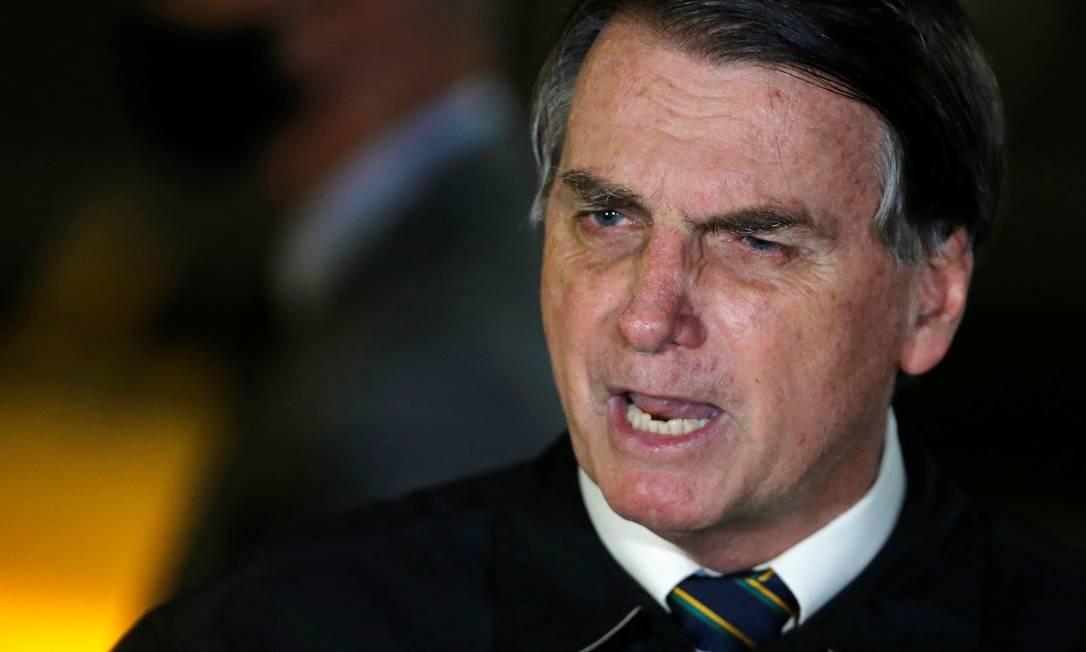 O presidente Jair Bolsonaro 22/05/2020 Foto: ADRIANO MACHADO / REUTERS