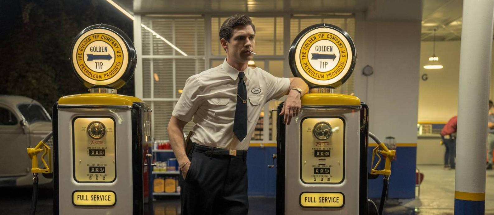 David Corenswet como o aspirante a ator Jack Castello em 'Hollywood' Foto: Divulgação