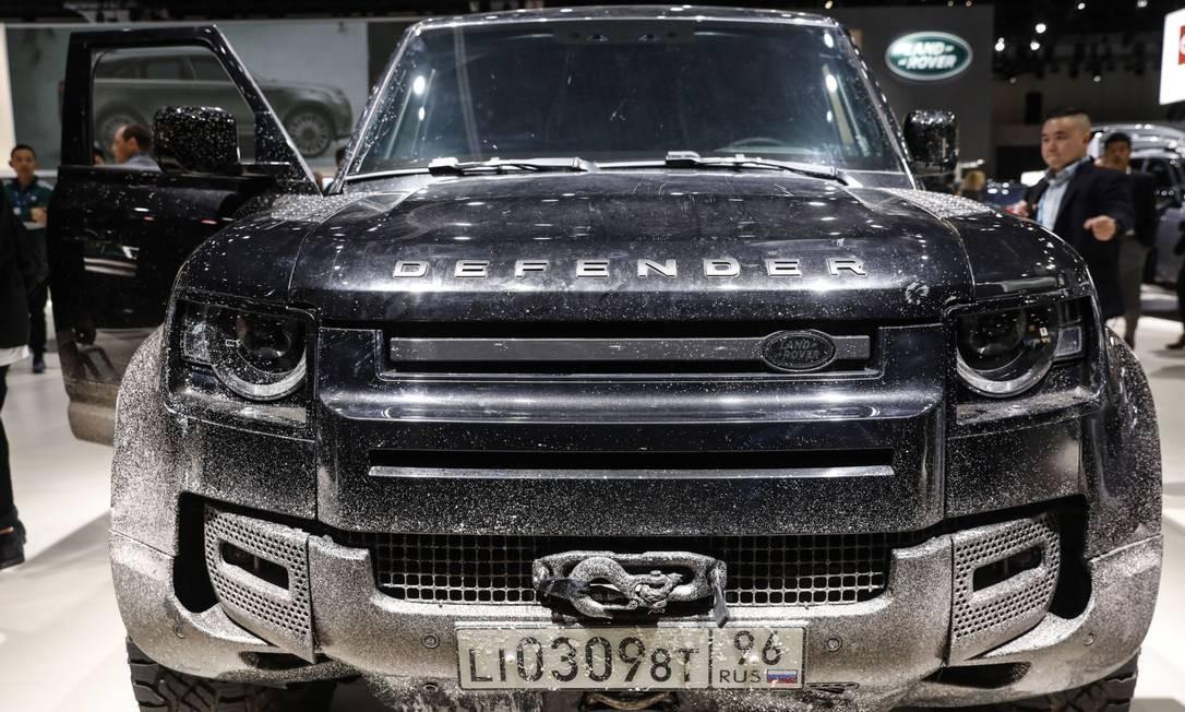 A Jaguar Land Rover interrompeu a produção de veículos por causa da pandemia de coronavírus Foto: Patrick T. Fallon / Bloomberg