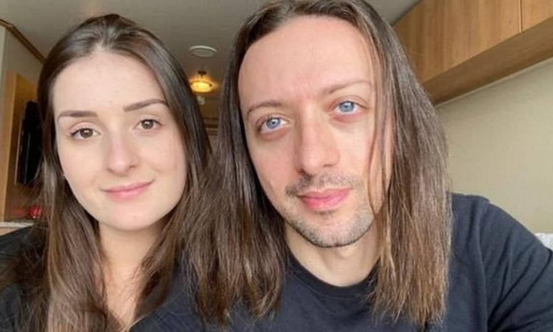 Caio Saldanha e sua namorada Jessica Furlan estão presos em um cruzeiro há mais de dois meses. Foto: Reprodução