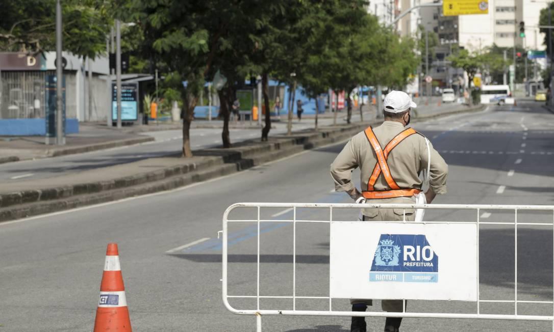 Foto: Gabriel de Paiva / O Globo - 16.05.2020