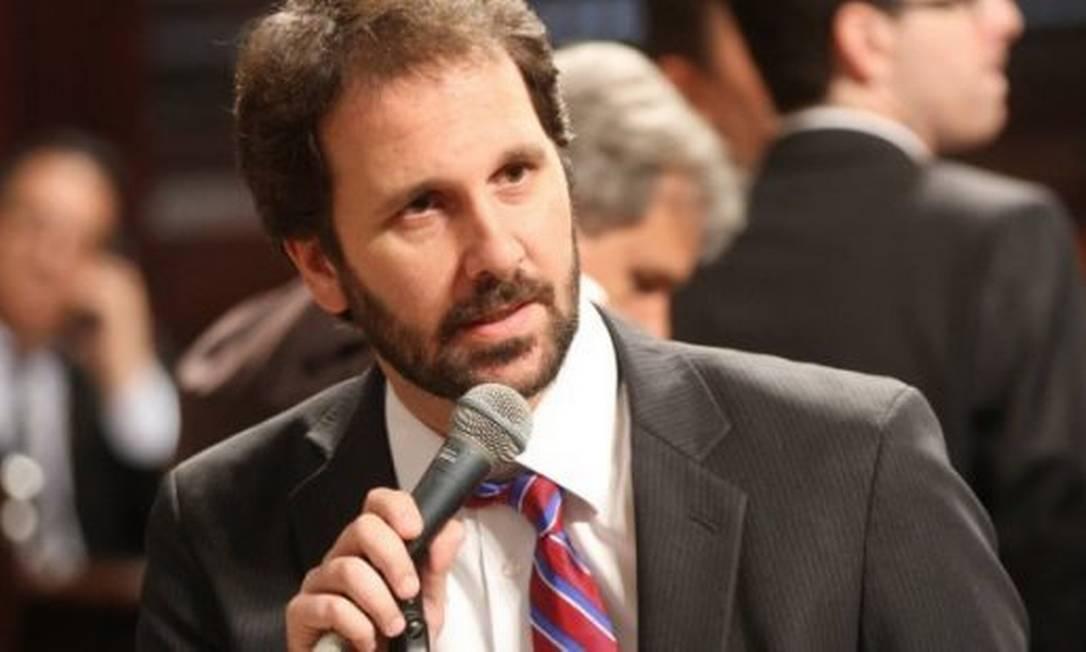 Flávio Serafini: psolista enviou ofício nesta segunda-feira para a presidência da Alerj, a Comissão de Ética e a Corregedoria da Casa Foto: Divulgação/ Alerj