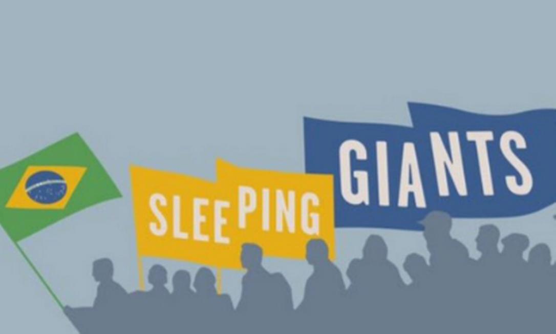 Sleeping Giants Foto: Reprodução/Twitter