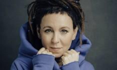 A escritora polonesa Olga Tokarczuk, Nobel de Literatura Foto: Lukasz Giza / Divulgação