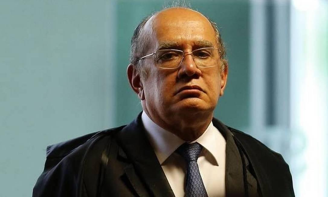 O ministro Gilmar Mendes, do Supremo Tribunal Federal Foto: Agência O Globo