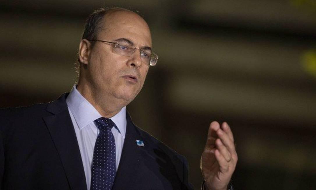 O governador do Rio, Wilson Witzel Foto: Gabriel Monteiro - O Globo - 08/05/2020