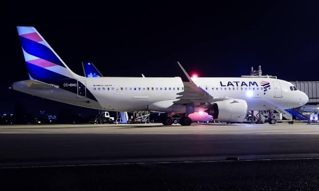 Nasce, em 2012, a Latam Airlines Group, a partir da fusão das operações da chilena LAN com a brasileira TAM Foto: Divulgação
