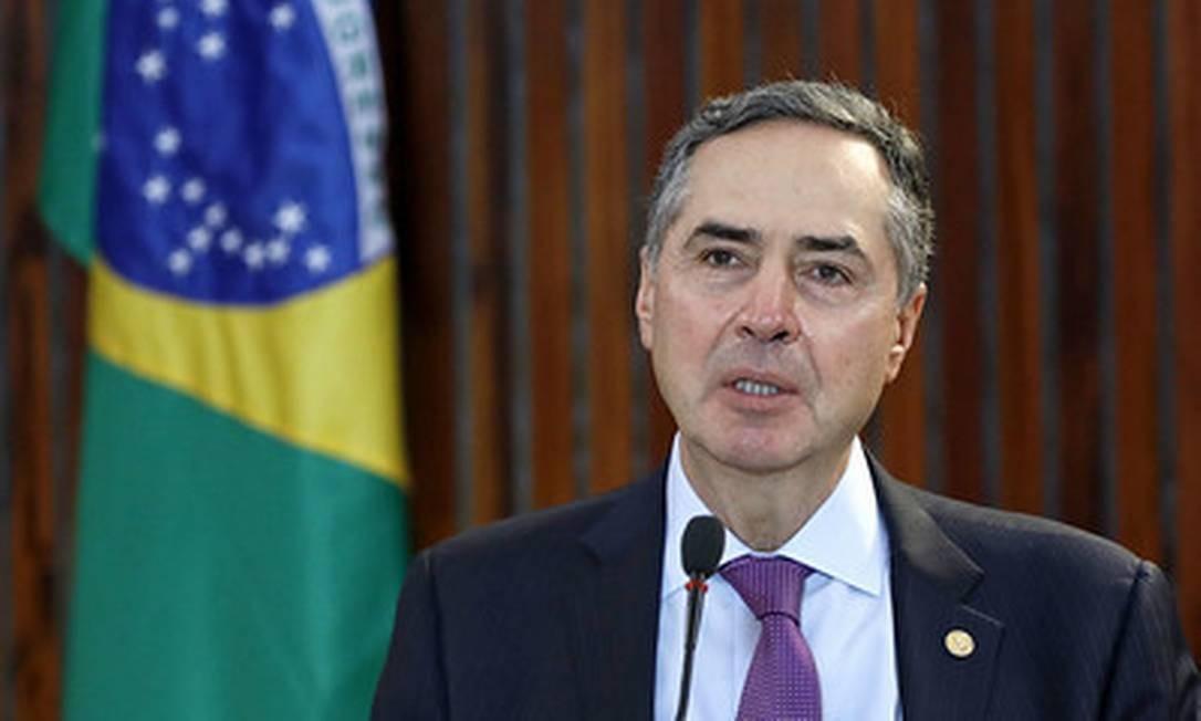 O presidente do Tribunal Superior Eleitoral (TSE), ministro Luís Roberto Barroso 26/05/2020 Foto: Divulgação