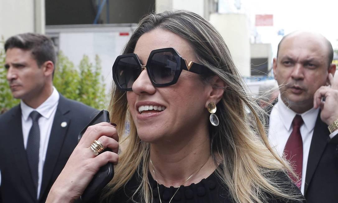 Helena Wiltzel em agenda com o governador no Sambódramo do Rio Foto Domingos Peixoto / Agência Globo Foto: Domingos Peixoto / Agência O Globo