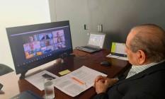 Reunião com Rodrigo Maia reforça importância de Sesc e Senac Foto: Divulgação CNC