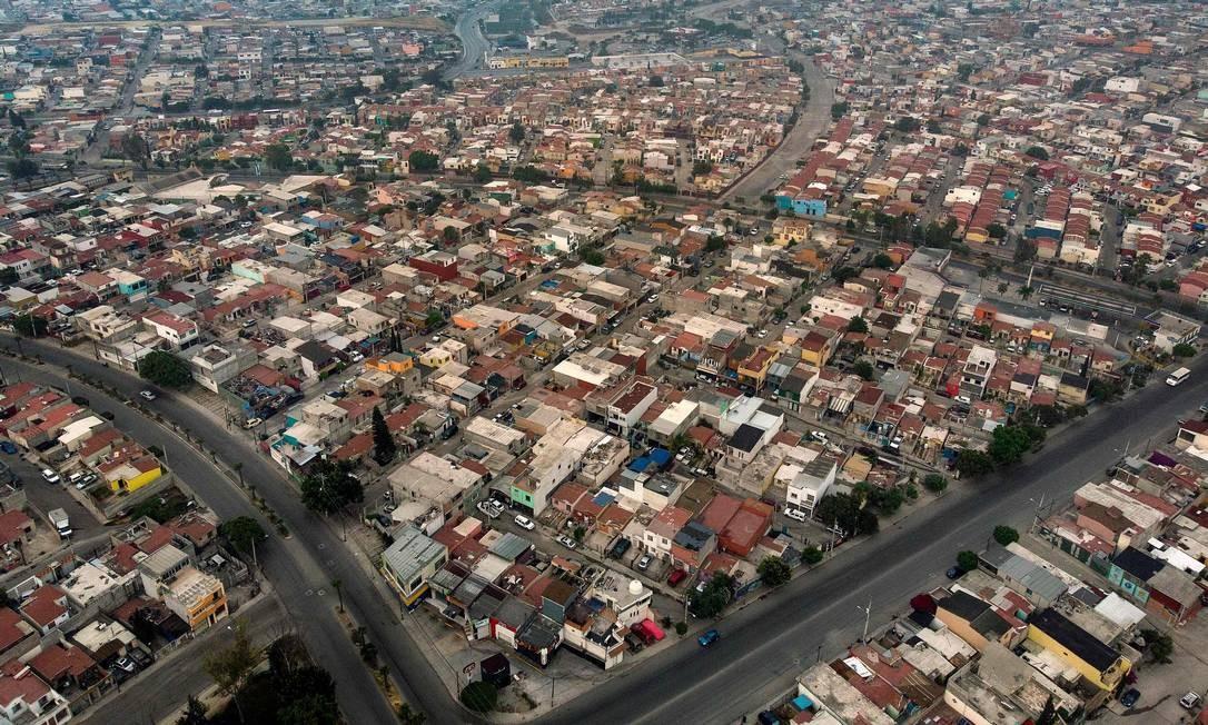 Villa Fontana, em Tijuana, Baja California, no México Foto: Guillermo Arias / AFP